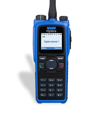 Цифровая носимая радиостанция Hytera PD-795Ex
