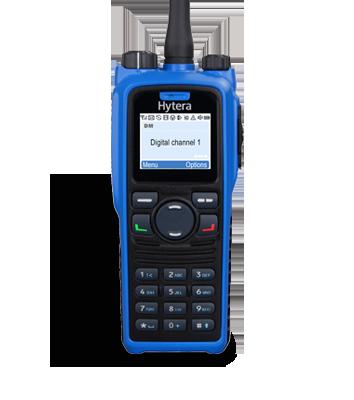 Цифровая носимая радиостанция Hytera PD-795Ex, фото 2