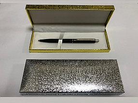 Коробка пенал для ручки (серебро)