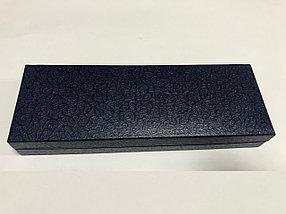 Коробка пенал для ручки (синий)