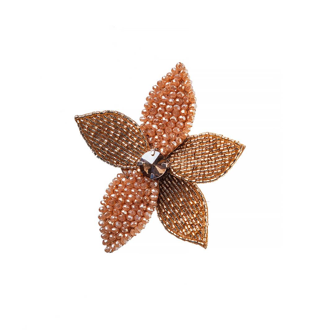 Брошь  Brosh Jewellery  ручной работы (Золотой)