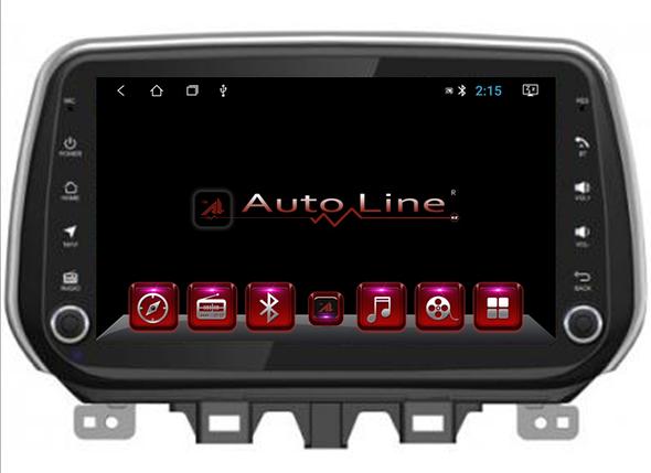 Автомагнитола AutoLine Автомагнитола  для Hyundai Tucson 2018-2019 г HD ЭКРАН 1024-600 ПРОЦЕССОР 4 ЯДРА (QUAD, фото 2