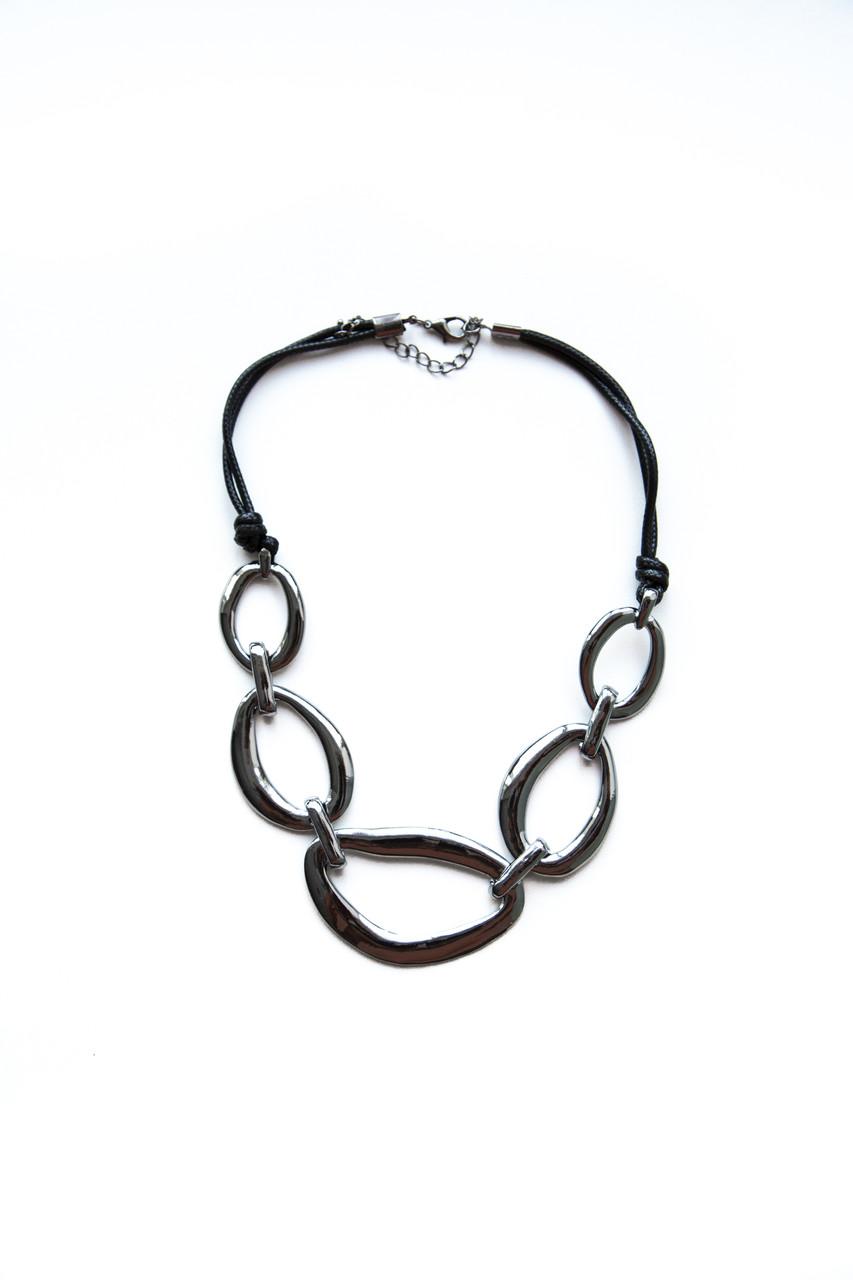 Колье из кожи Brosh Jewellery Тренд 2020г.