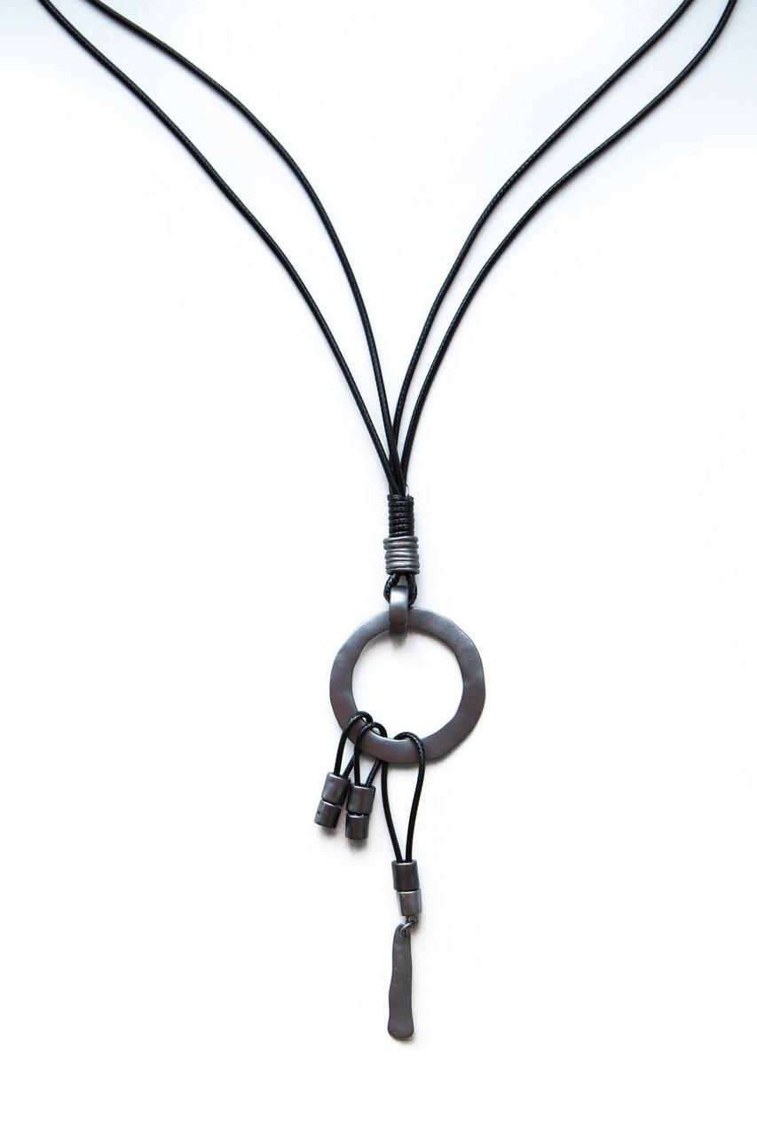 Массивные Колье из веревки и шнура Brosh Jewellery Тренд 2020г