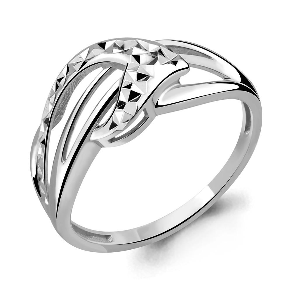 Серебряное кольцо AQUAMARINE (#644403)