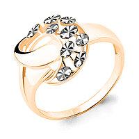 Серебряное кольцо AQUAMARINE (#654686)