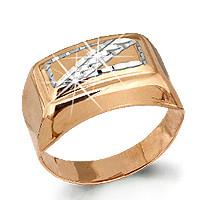Серебряное кольцо AQUAMARINE (#711909)