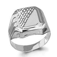 Серебряное кольцо AQUAMARINE (#712374)