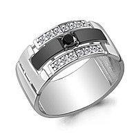 Серебряное кольцо с нано-кристаллом и фианитом AQUAMARINE (#708496)
