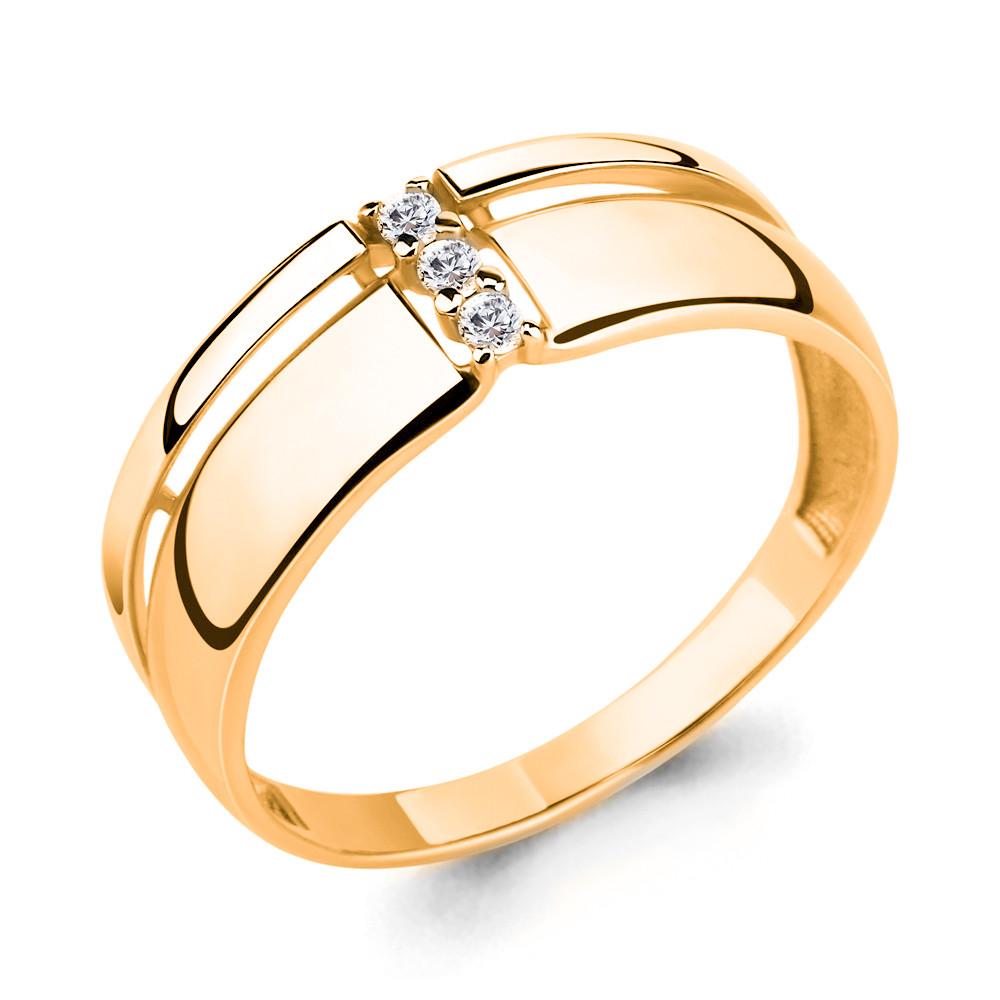 Серебряное кольцо с фианитом AQUAMARINE (#708761)