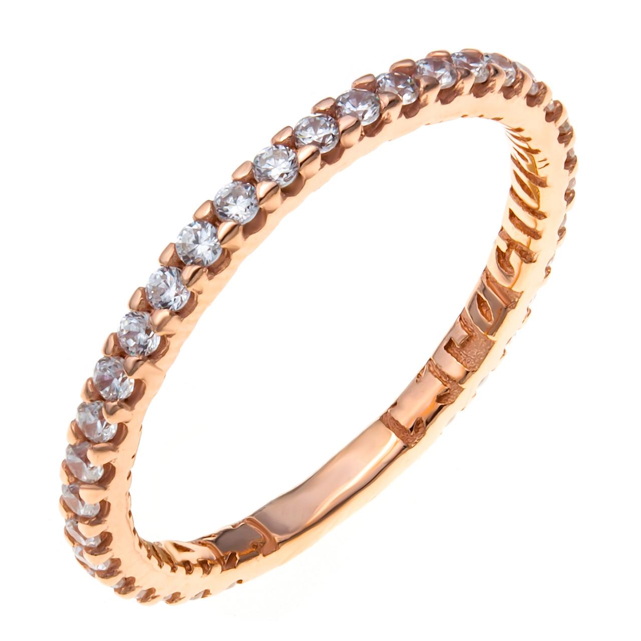 Серебряное кольцо с фианитом AQUAMARINE (#409787)