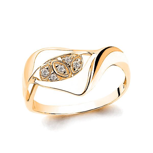 Серебряное кольцо с фианитом AQUAMARINE (#705911)