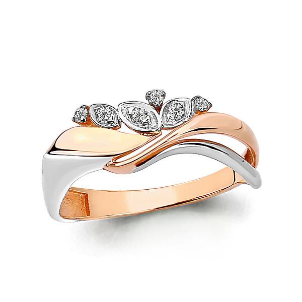 Серебряное кольцо с фианитом AQUAMARINE (#712108)