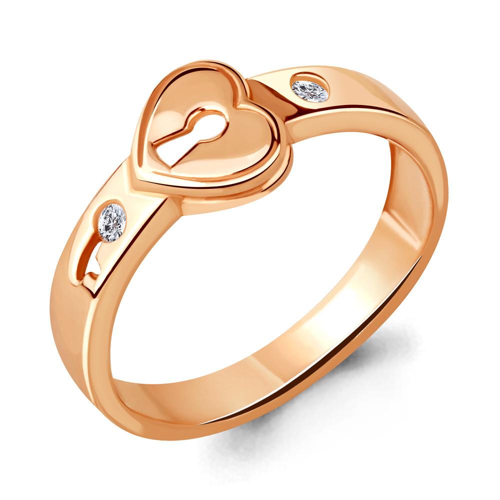 Серебряное кольцо с фианитом AQUAMARINE (#706494)