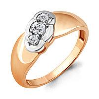 Серебряное кольцо с фианитом AQUAMARINE (#712118)