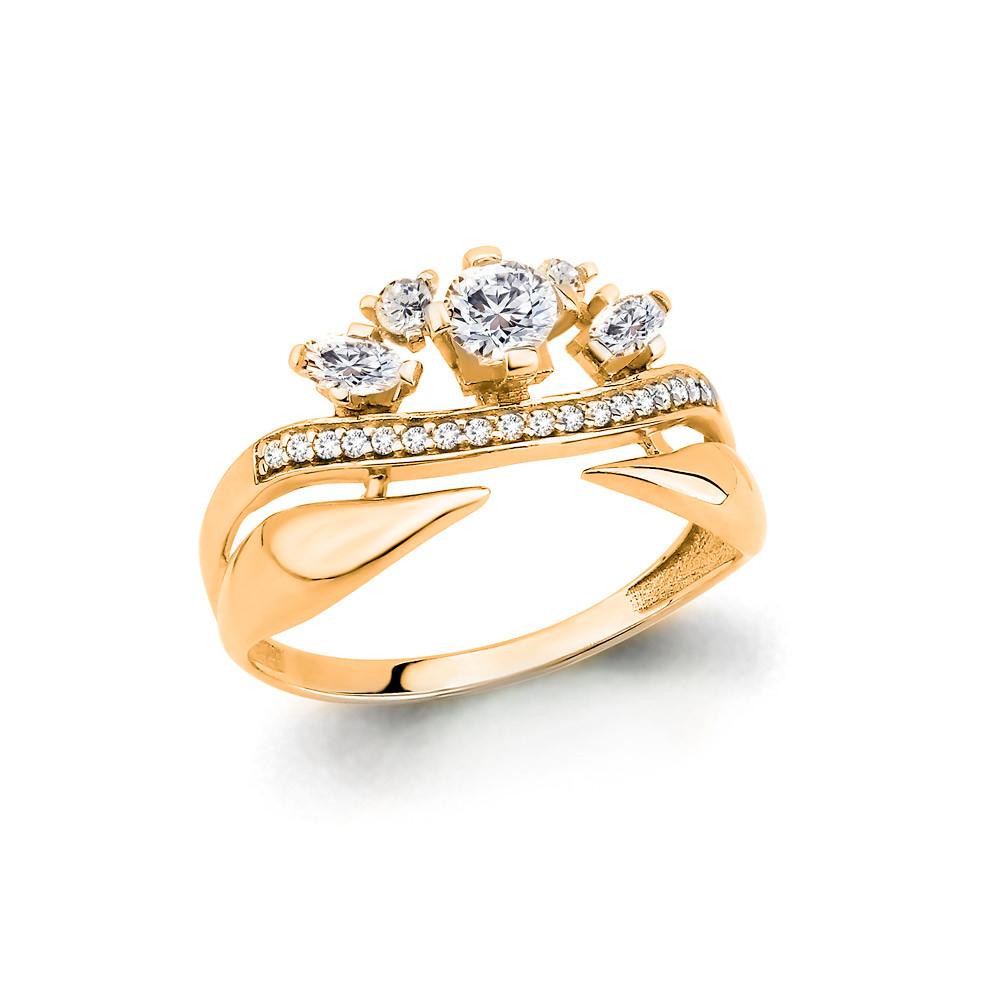 Серебряное кольцо с фианитом AQUAMARINE (#708755)