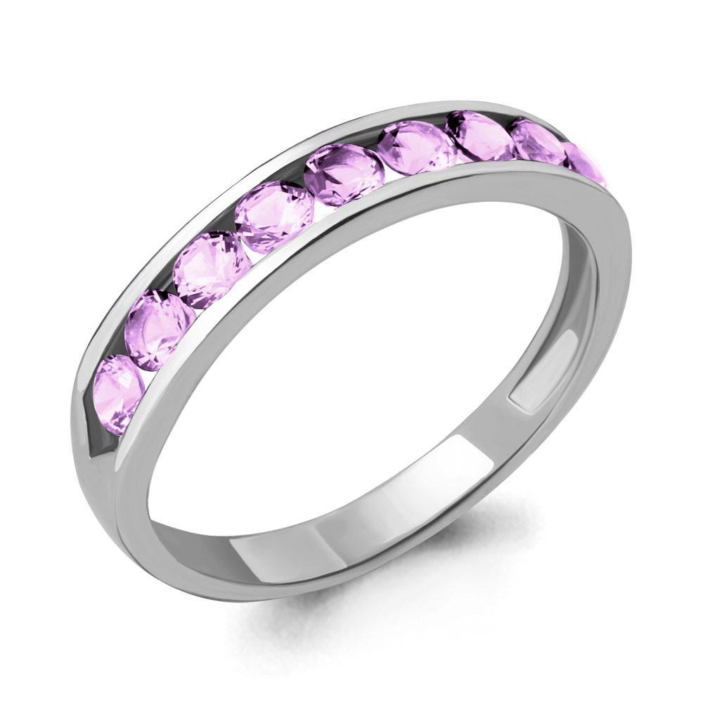Серебряное кольцо с фианитом AQUAMARINE (#712381)