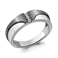 Серебряное кольцо с фианитом AQUAMARINE (#711490)