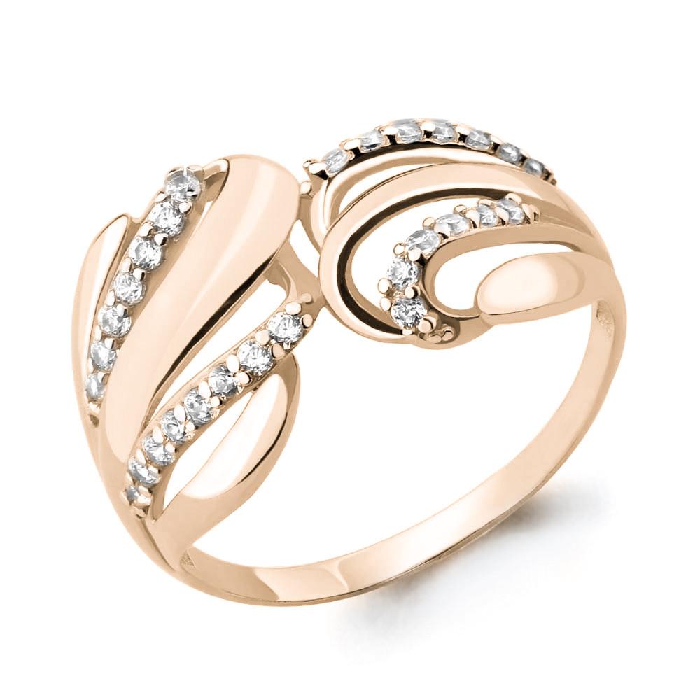 Серебряное кольцо с фианитом AQUAMARINE (#654688)