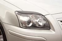 Накладки на передние фары (реснички) Toyota Avensis 2003-2008, фото 3
