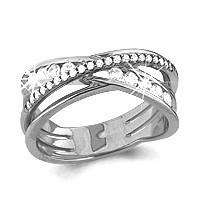 Серебряное кольцо с фианитом AQUAMARINE (#484642)
