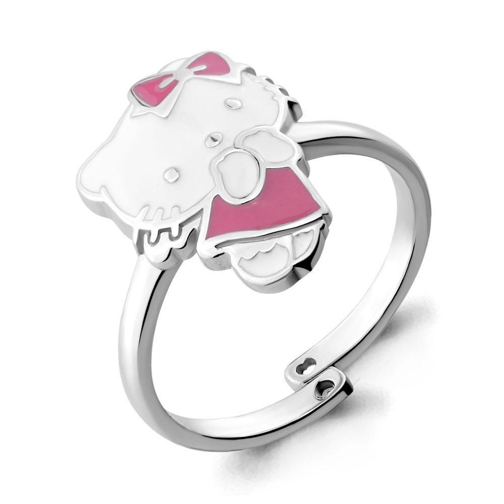 Серебряное кольцо с эмалью AQUAMARINE (#667399)