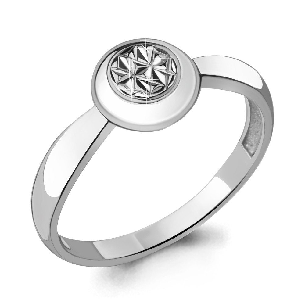 Серебряное кольцо AQUAMARINE (#705222)