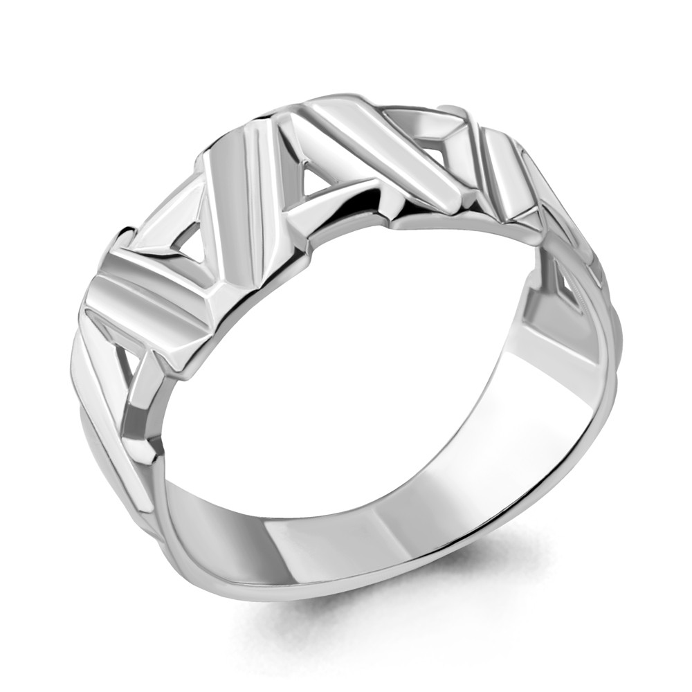 Серебряное кольцо AQUAMARINE (#703754)