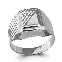 Серебряное кольцо AQUAMARINE (#468040)