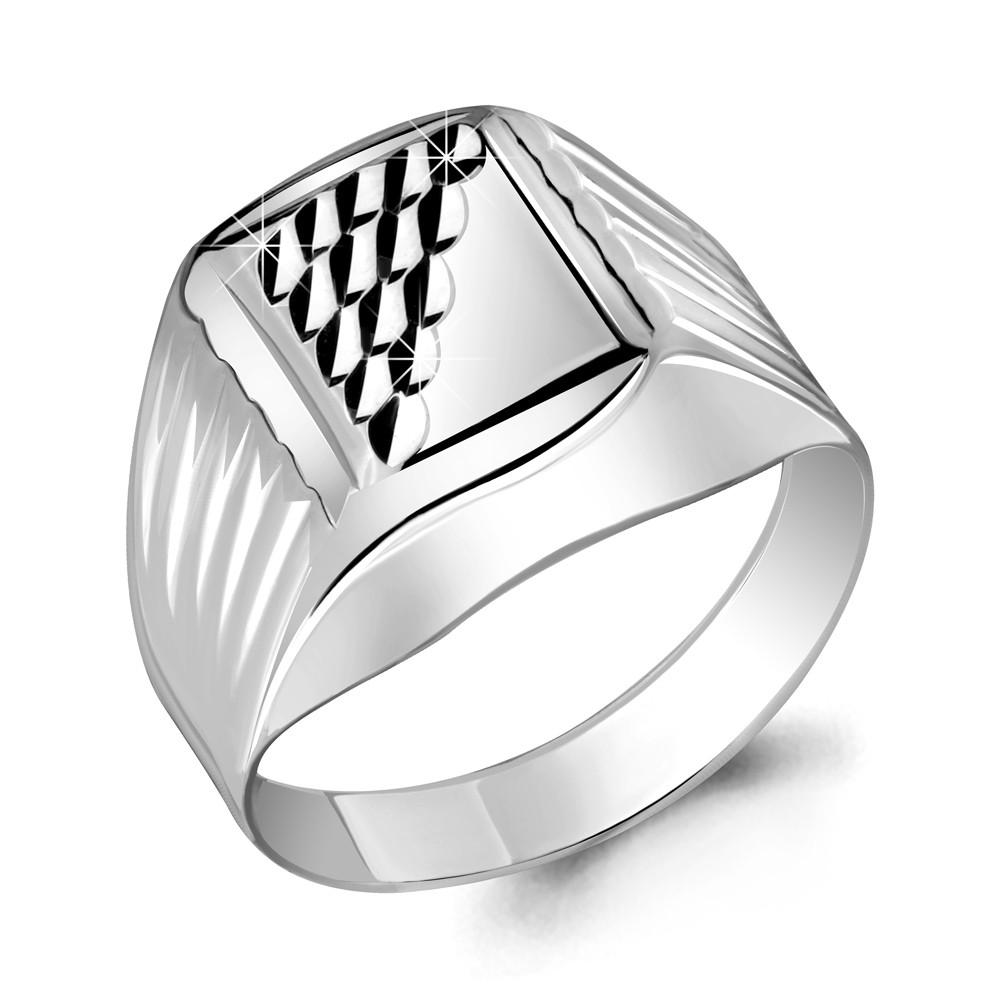 Серебряное кольцо AQUAMARINE (#712373)
