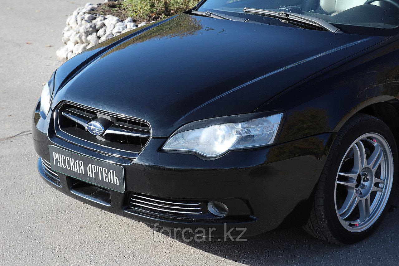 Накладки на передние фары (реснички) Subaru Legacy 2003-2009
