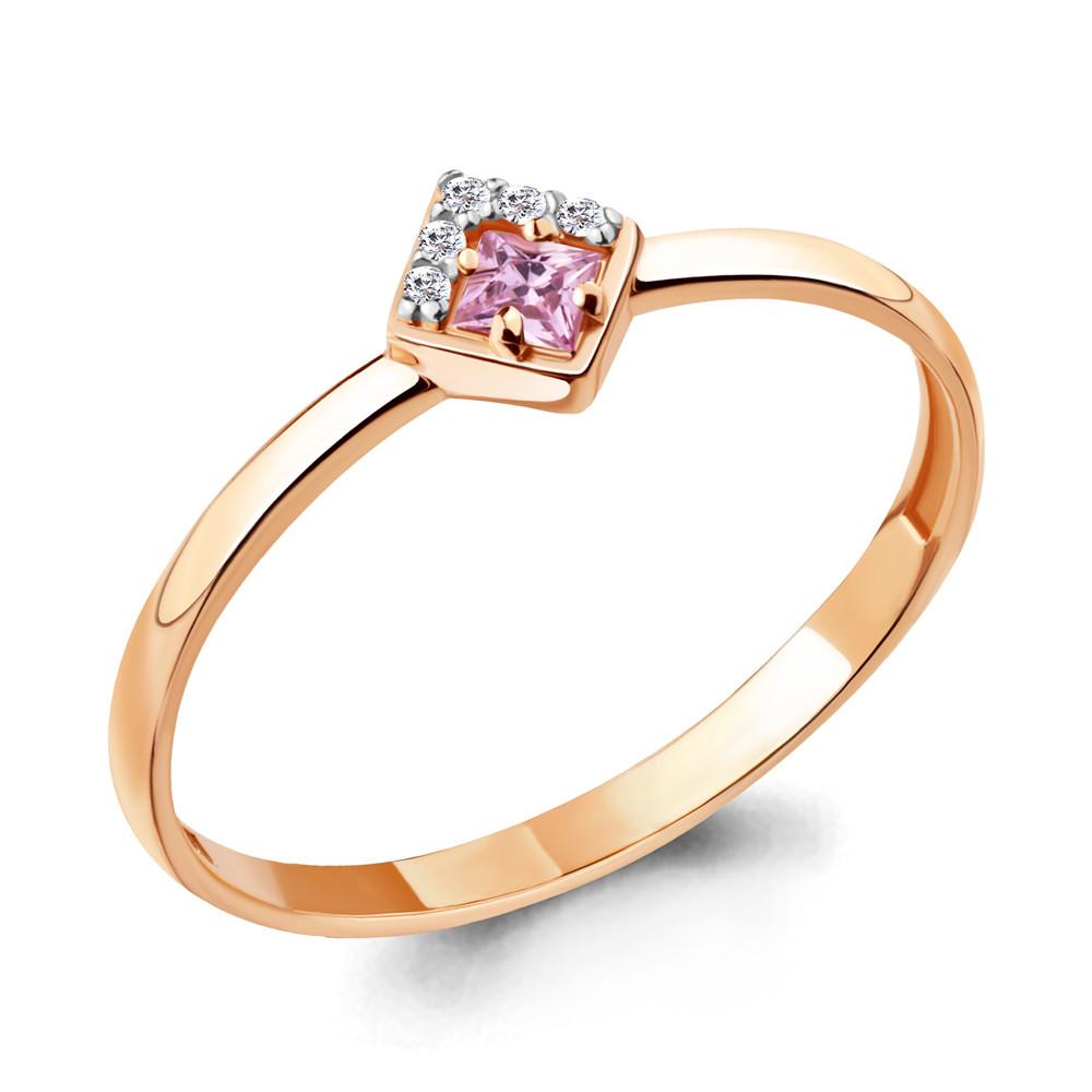Серебряное кольцо с фианитом AQUAMARINE (#712125)