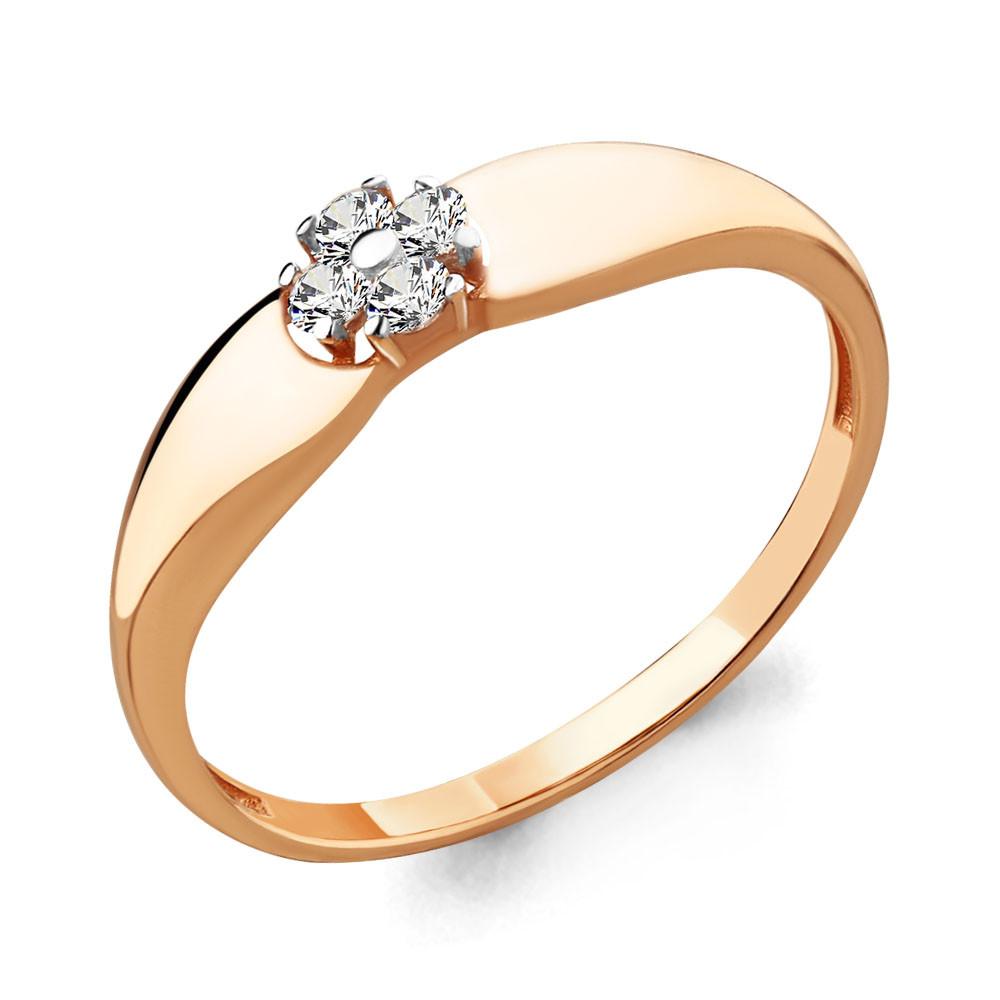 Серебряное кольцо с фианитом AQUAMARINE (#706622)