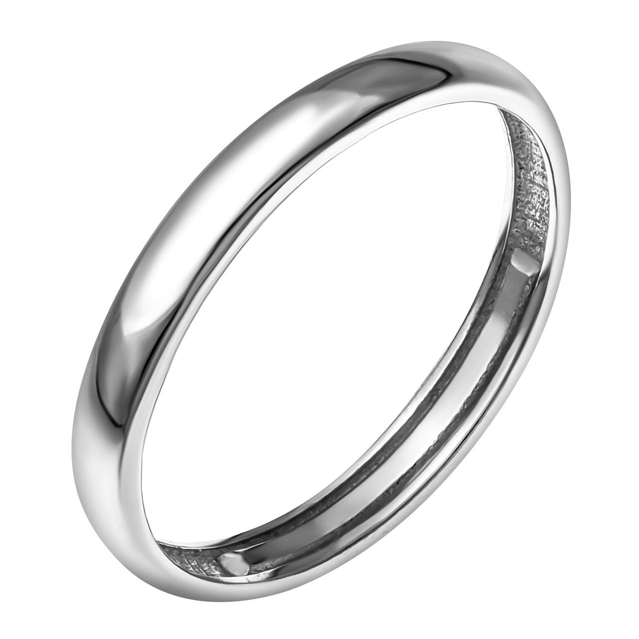 Серебряное кольцо с фианитом AQUAMARINE (#703756) 18