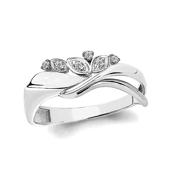 Серебряное кольцо с фианитом AQUAMARINE (#711481)