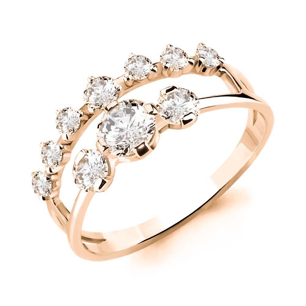 Серебряное кольцо с фианитом AQUAMARINE (#712114)