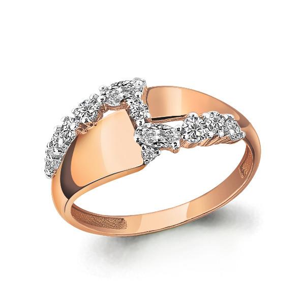 Серебряное кольцо с фианитом AQUAMARINE (#643728)