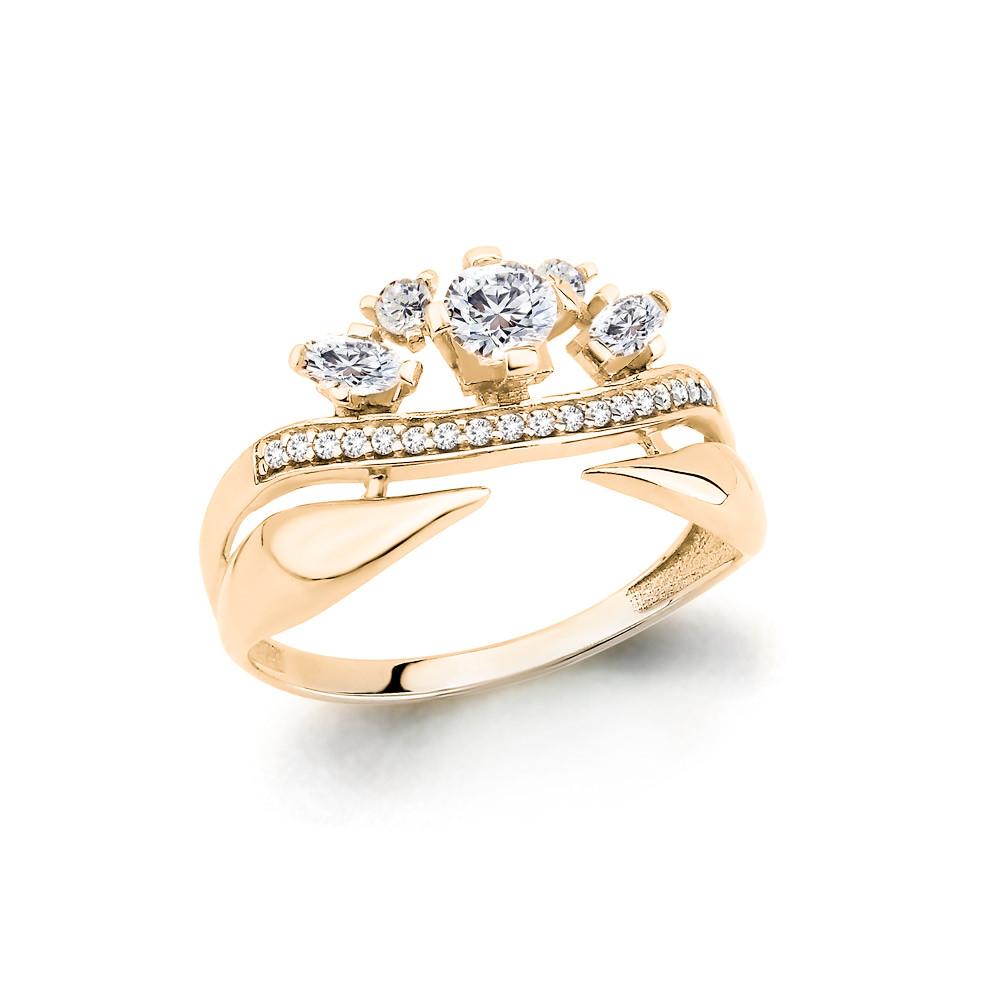 Серебряное кольцо с фианитом AQUAMARINE (#652925)