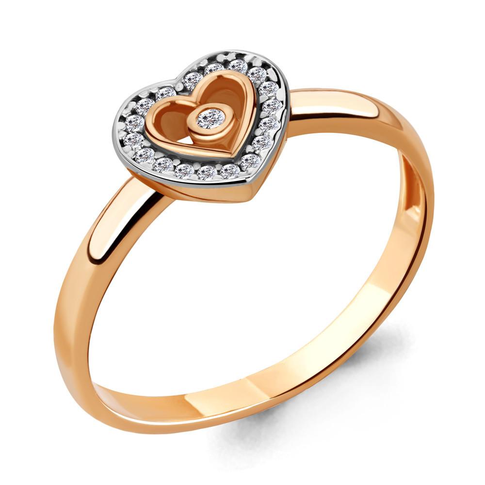 Серебряное кольцо с фианитом AQUAMARINE (#706493)