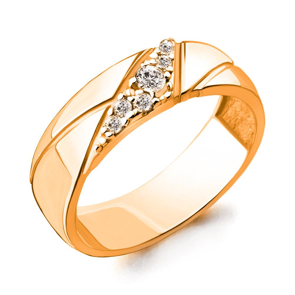 Серебряное кольцо с фианитом AQUAMARINE (#705923)