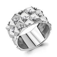 Серебряное кольцо с фианитом AQUAMARINE (#714966)