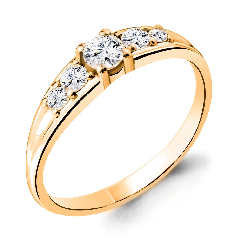 Серебряное кольцо с фианитом swarovski AQUAMARINE (#712247)