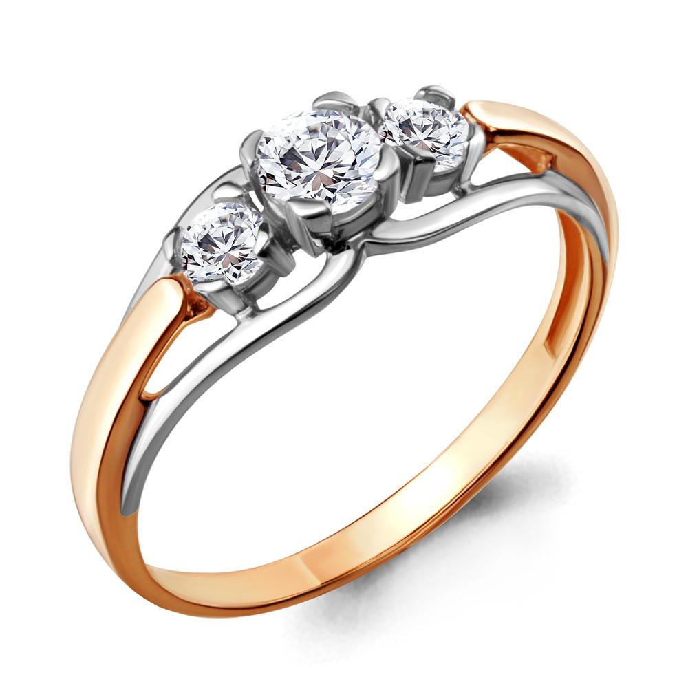 Серебряное кольцо с фианитом swarovski AQUAMARINE (#708746)