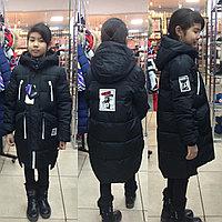 Куртки детские удлинённые BILEMI для девочек
