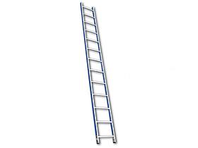Лестница односекционная алюминиевая Алюмет 5106