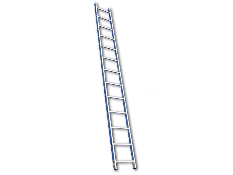 Лестница односекционная алюминиевая Алюмет 5110