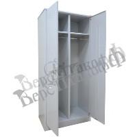 Металлический шкаф для одежды Верстакофф ШМ-22/500 в собранном виде