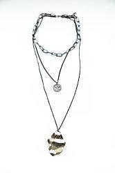 Тройное Колье  Brosh Jewellery  (серебро)