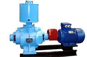 Насос вакуумный водокольцевой ВВН 1-0,75 с отв. фл. и крепежом