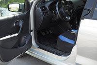 Накладки на внутренние пороги дверей Volkswagen Polo V 2009-, фото 2